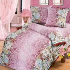 Постельное белье Кружева бордо (1,5 спальный комплект)