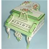 Антикварная шкатулка рояль Музыка любви