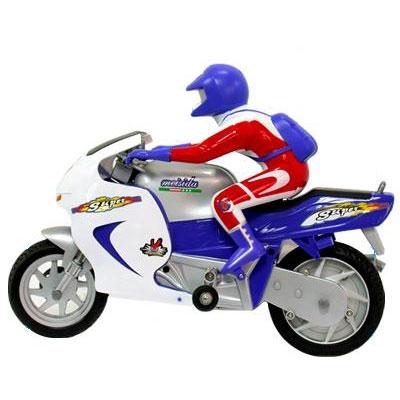 Игрушечный мотоцикл на радиоуправлении