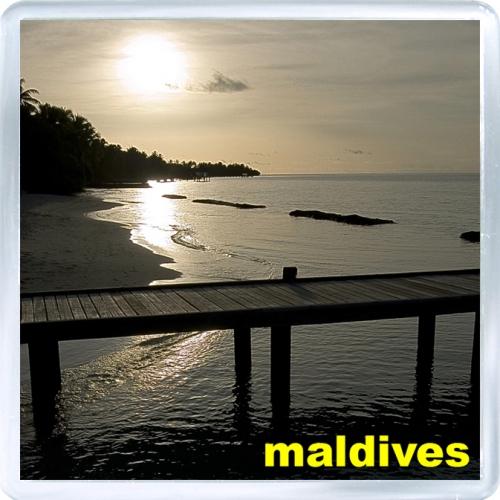 Магнит: Мальдивы. Закат на Мальдивских Островах