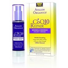 Ночной антивозрастной крем для лица CoQ10, 50 г.