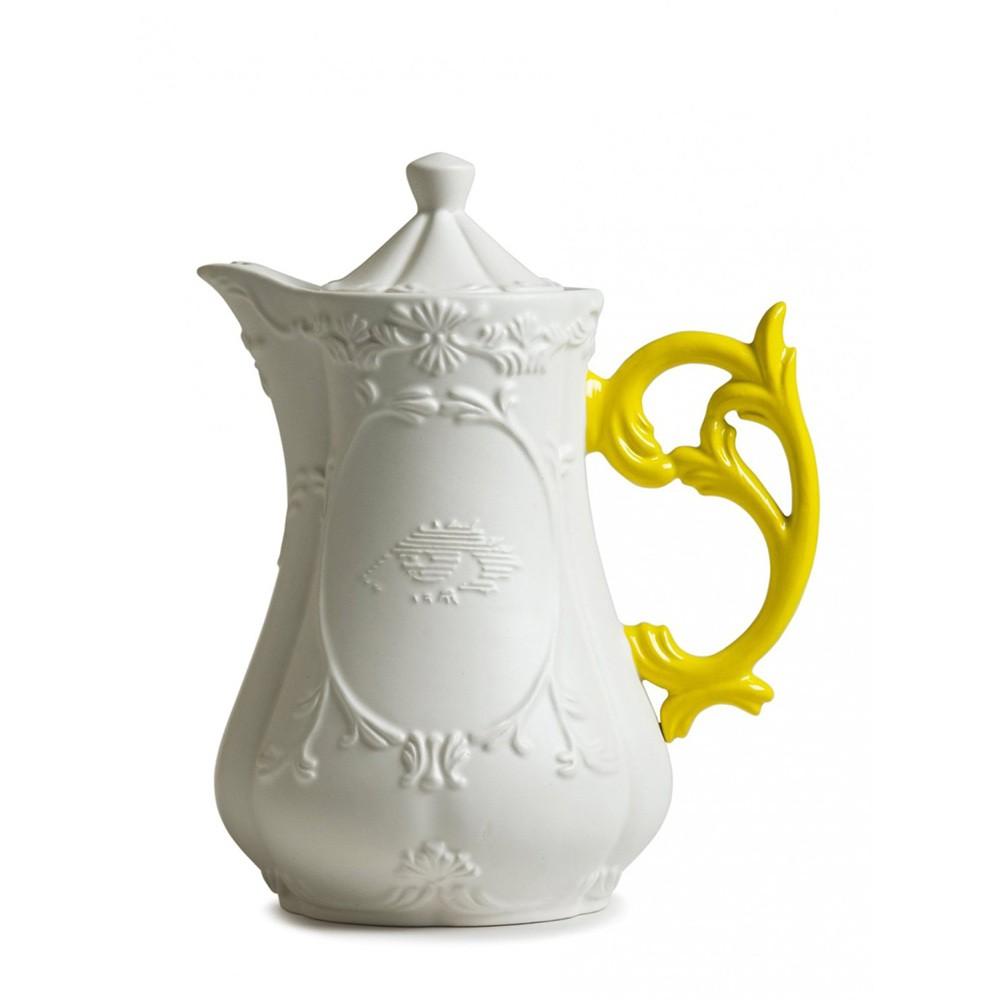 Фарфоровый чайник I-wares жёлтый