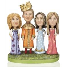 Кукла-шарж по фотографиям «Царевичи – королевичи»