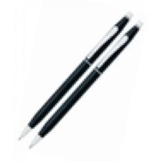Черный набор Cross Century classic: ручка и карандаш 0.7мм