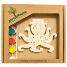 Развивающая игрушка Осьминог с красками