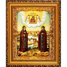 Икона Петр и Феврония Муромские Святые Благоверные