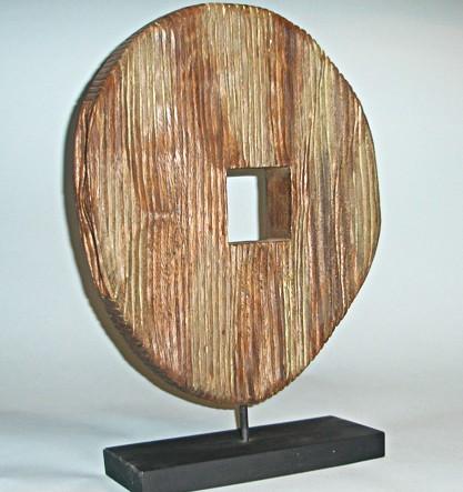 Деревянная скульптура «Амазонка»