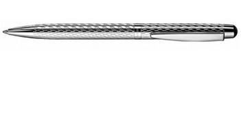 Серебряная шариковая ручка Otto Hutt Design 02