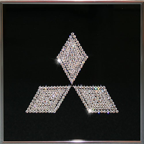 Картина с кристаллами Swarovski Mitsubishi