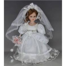 Фарфоровая кукла Невеста