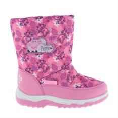 Розовые сноубутсы для девочек Peppa Pig