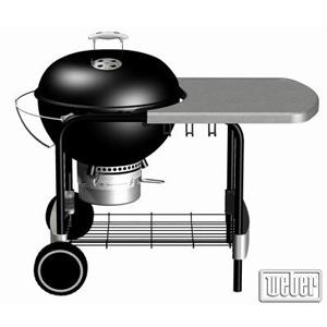Гриль Weber One-Touch® Platinum Black