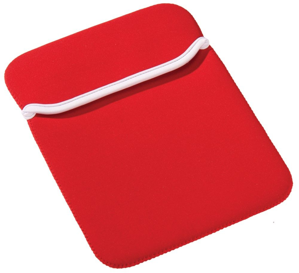 Чехол для iPad, красный с белым