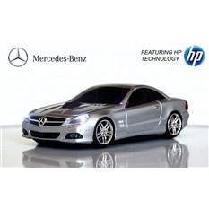 Компьютерная мышь в виде RoadMice Mercedes SL550 Silver