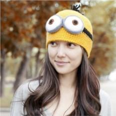 Вязаная шапка Миньон