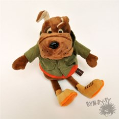 Мягкая игрушка Бульдог Рокки в Куртке