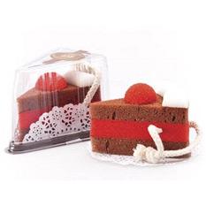 Губка-мочалка «Кусочек торта»