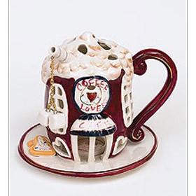Подсвечник Кафе влюбленных
