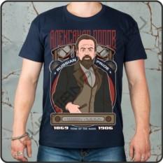 Мужская футболка Попов, russian pride