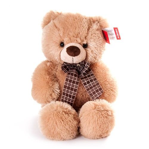 Мягкая игрушка Aurora Медведь медовый, 45 см