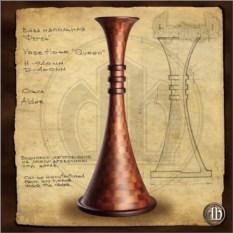 Напольная ваза 1 (Ферзь)