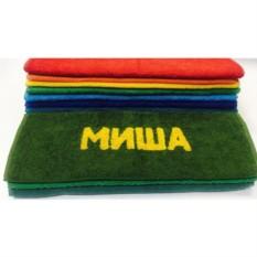Полотенце с вышивкой Миша