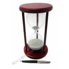 Часы песочные 30 минут белый песок