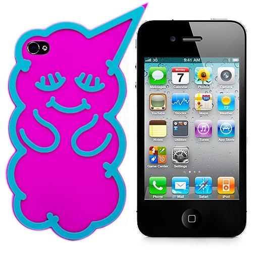 Чехол для iPhone 4/4S Pink Bear