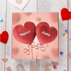 Бельгийский шоколад в подарочной упаковке От всего сердца