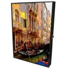 Настенная ключница-картина Город каналов