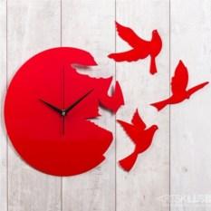 Настенные часы Полёт времени