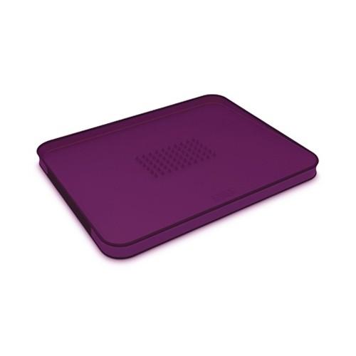 Разделочная доска с бортом, фиолетовая, полипропилен, Joseph&Joseph