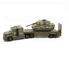 Игровой набор Военный перевозчик и Танк от Soma