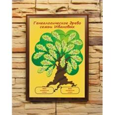 Подарочный диплом Генеалогическое древо семьи