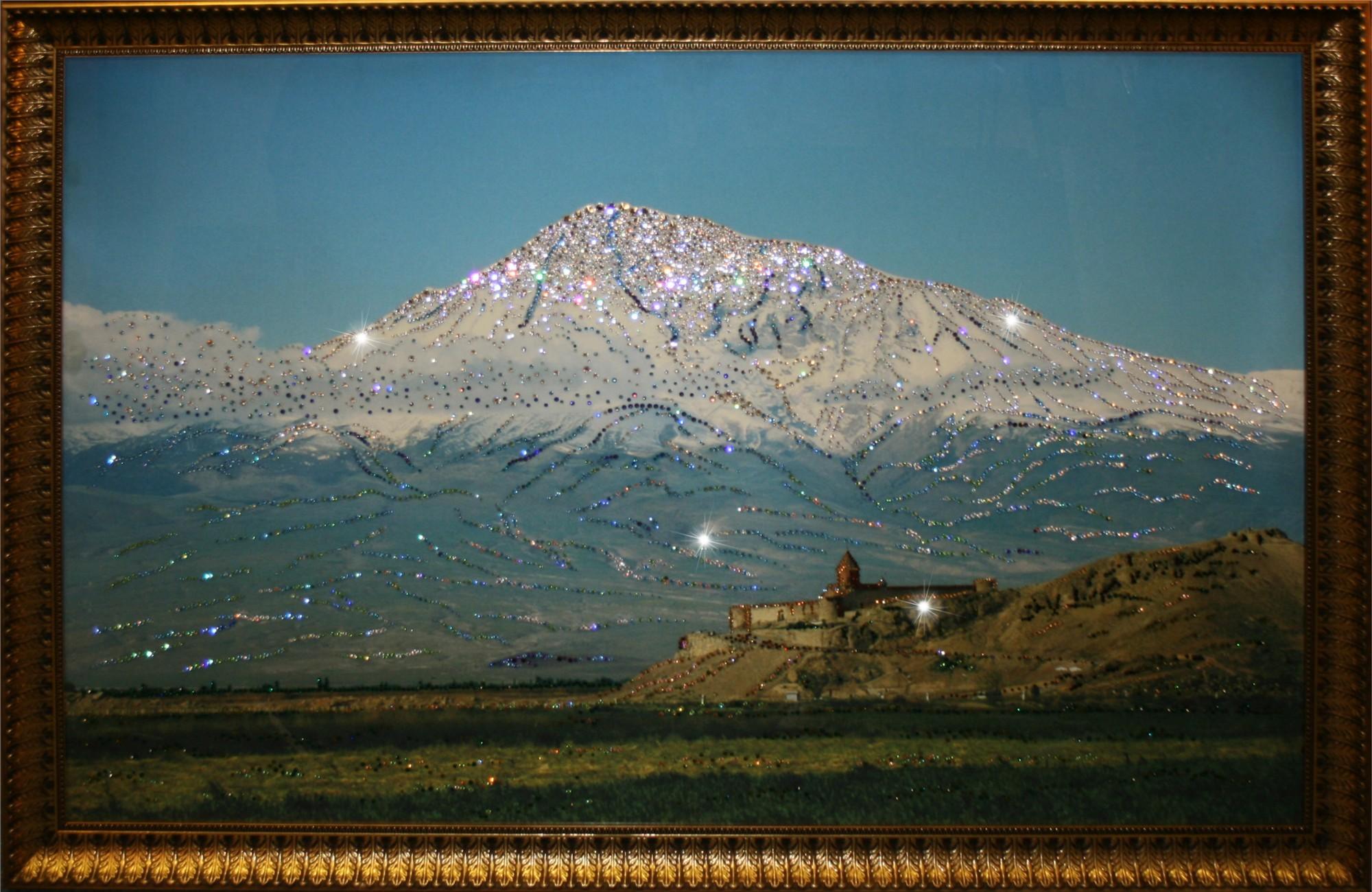 Картина Сваровски Гора Арарат