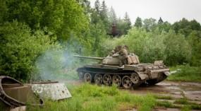 Подарочный сертификат Катание на танке Т-34 и Т-55