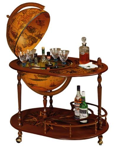 Глобус-бар со столиком Zoffoli