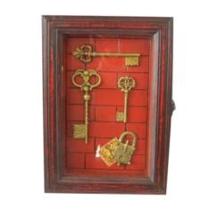 Ключница Ключи под стеклом