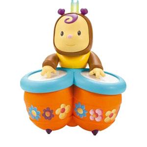 Каталка - толкатель «Пчёлка Зум с барабанами»