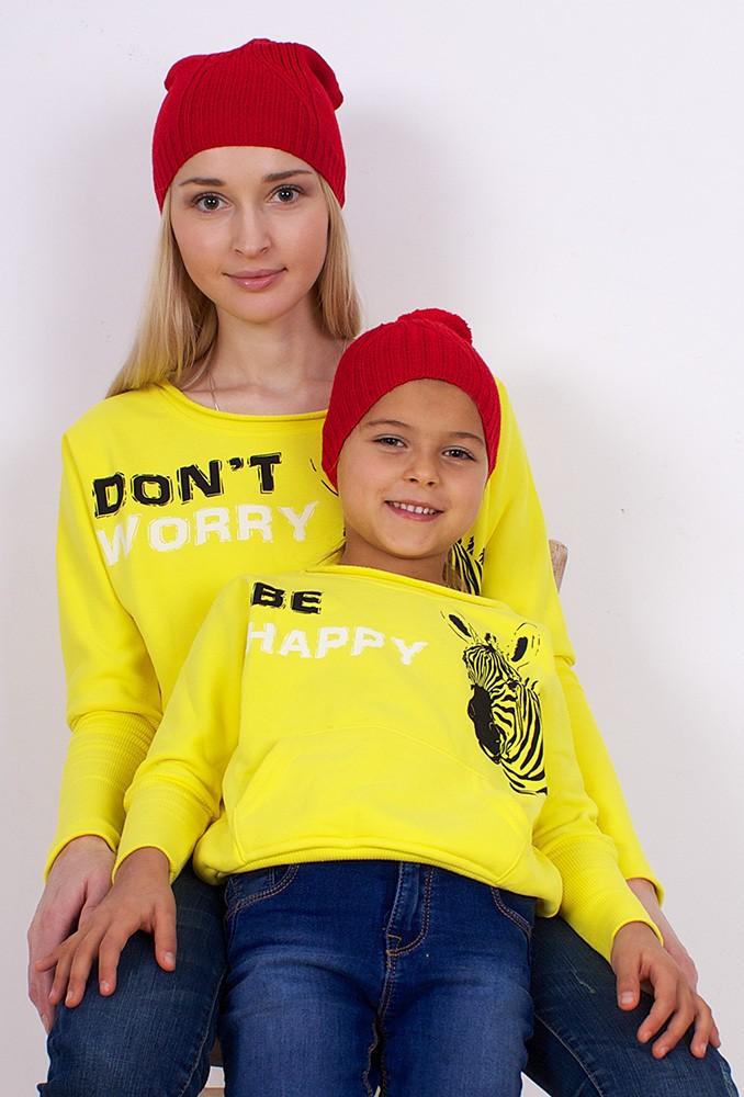 Комплект шапок Red Nose для мамы и дочки
