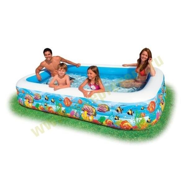 Семейный бассейн «Волны»,  INTEX (От 6 лет)