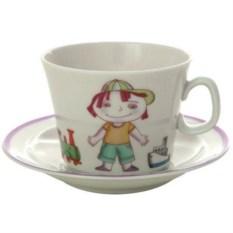 4-x предметный детский чайный комплект Мишенька (фарфор)