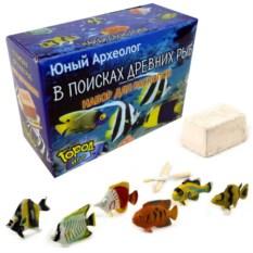 Мини-набор для раскопок «Древние рыбы»
