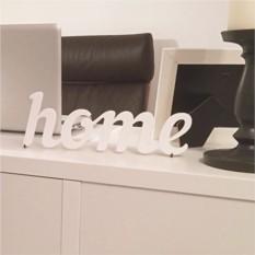 Декоративное слово Home