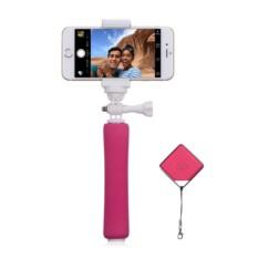 Селфи-монопод Momax Selfie mini KMS2 Pink с пультом