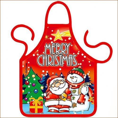 Фартук на бутылку Merry Christmas
