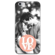 Чехол с фото и текстом для iPhone «Любовь»