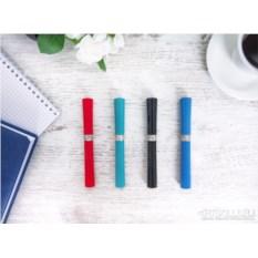 Ручка с серебром 925 пробы «Грация» (4 цвета)