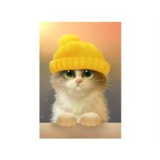 Алмазная вышивка «Милый котик» Ричарда Донскиса