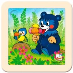 Пазл Медвежонок с мороженым